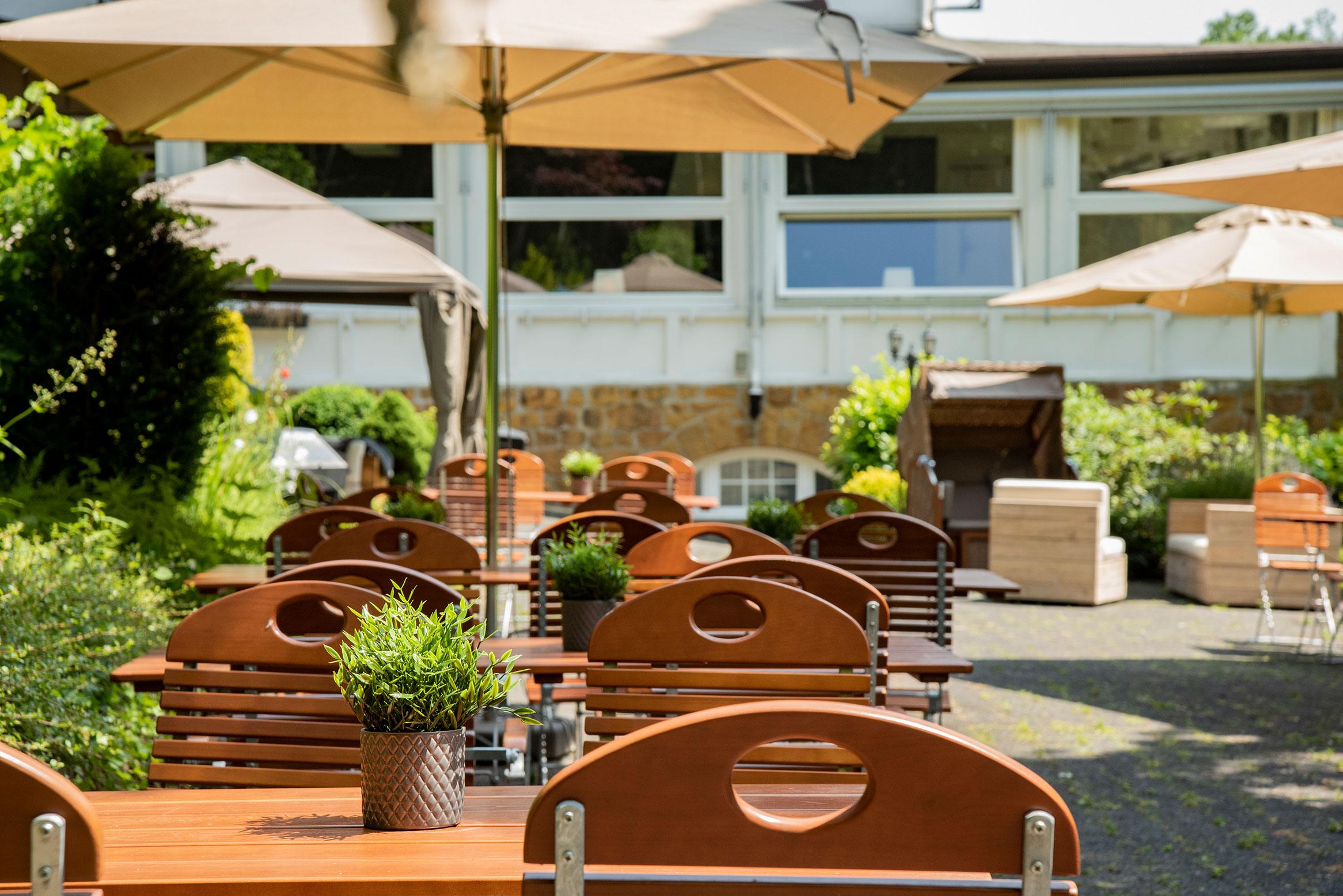 Bielefelder Berghotel – die Terrasse